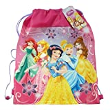 Back to School - Disney Princess Messenger Bag and Princess Causal Look Drawstring Bag Set