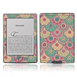 TaylorHe Colourful Decal Vinyl Skin for Amazon Kindle 4 Ultra-slim protection with pretty patterns MADE IN BRITAIN Retro Style Floral Pattern