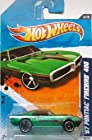 2011 Hot Wheels '67 Pontiac Firebird 400 Green #86/244