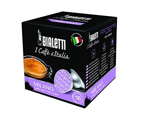 Bialetti 6819 Mini Express Espresso Capsules, Milano, 16-pack (Capsule Bialetti compare prices)