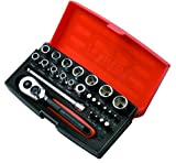 Bahco SL25 Socket Set 25 Piece 1/4 Inch Drive