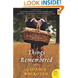 Things Remembered Novel Georgia Bockoven