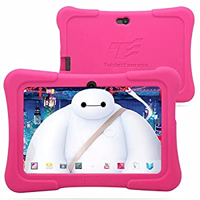 "Dragon Touch 7"" Quad Core Android Kids Tablet, with Wifi and Camera and Games, HD Kids Edition w/ Zoodles Pre-Installed (2015 New Model, Y88X with Silicone Case)"