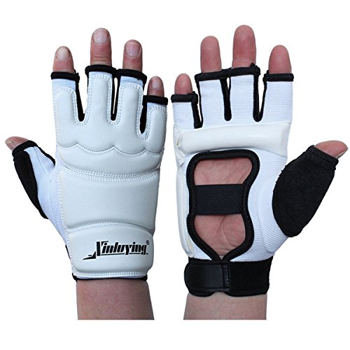 XinluYing Women Men Taekwondo Hand Protector Gear Fight Boxing Punch Bag Sparring MMA UFC Thi Leather Gloves XS-XXL