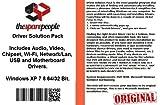 Driver Solution Pack For Lenovo 3000 G410 Notebook / Laptop PC Series Installs Fix Audio Video Chipset Wi-Fi Network/Lan USB Motherboard Drivers- Windows XP Vista 7 8 32/64 Bit DVD Disk