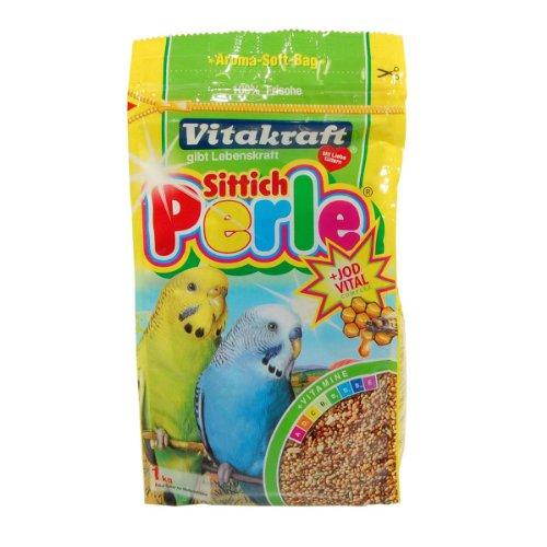 Vitakraft Sittich Perle : Alleinfuttermittel für Sittiche - 1 x 1000 g
