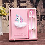 Modcon Unicorn Journal Gel Pens Set Gifts for Girls -Lovely Birthday Back to School Gifts for Girls of All Ages