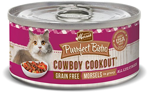 Merrick Purrfect Bistro Grain Free Cowboy Cookout