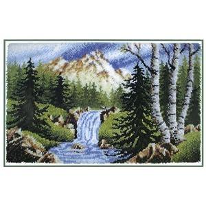 Caron Wonderart 30x50 Latch Hook Kit: Sierra