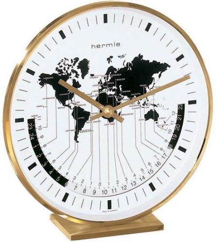 Hermle Buffalo I Table Clock Sku# 22704002100