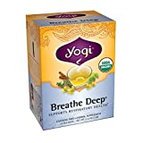 Yogi Teas Breathe Deep Tea Bags, 16 Count