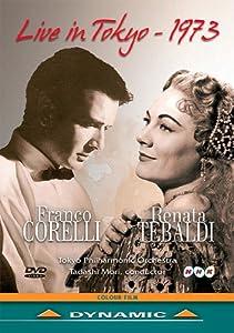 Franco Corelli and Renata Tebaldi: 1973 Tokyo Concert