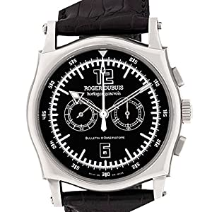 Roger Dubuis Sympathie mechanical-hand-wind black mens Watch S46 (Certified Pre-owned)