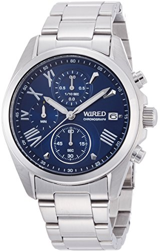 SEIKO WIRED セイコー ワイアード PAIR STYLE ペアスタイル クォーツ クロノグラフ メンズ 腕時計 AGAT405