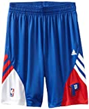NBA Detroit Pistons On-Court Pre-Game Short, Medium, navy blue, white, and red