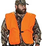 "Allen Company Orange Big Man Safety Vest Chest,52"" - 64""Chest"