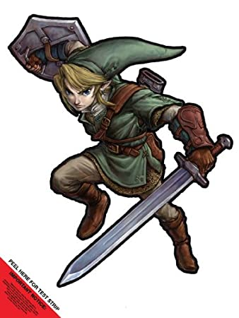 Wall Graffix: Zelda Link