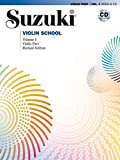 Suzuki Violin School, Vol 1: Violin Part, Book and CD