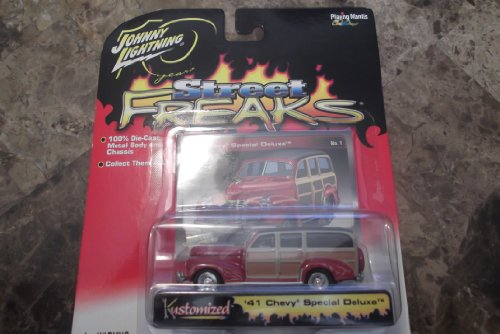 Johnny Lightning 1:64 Kustomized 1941 Chevy Special Deluxe Street Freaks