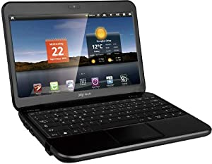 JAY-tech Mini-Notebook 9905 25,7 cm (10,1 Zoll) Notebook (iMAPX 210, 1GHz, 512MB RAM, 4GB Flashspeicher, HDMI, 4x USB 2.0, Android 2.3) schwarz