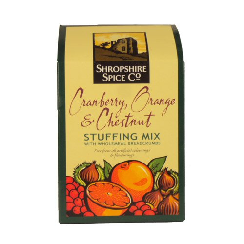 Shropshire Spice Cranberry Orange & Chestnut Stuffing 150g