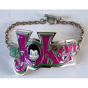 Officially Licensed Dc Comic Joker Wrist Bracelet