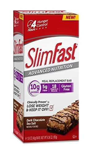 slim-fast-advanced-nutrition-meal-replacement-bar-dark-chocolate-sea-salt-nut-4-bars-pack-of-2
