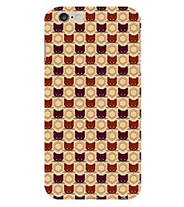 Animated Design Many Cat 3D Hard Polycarbonate Designer Back Case Cover for Apple iPhone 6 :: Apple iPhone 6