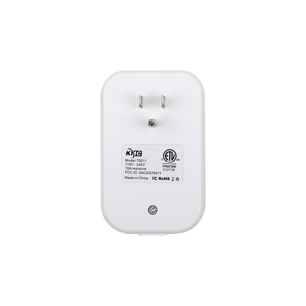 KMC Smart Plug,Timing Switch Power Monitoring Smart Socket,Any Network 2G/3G/4G/Wi-Fi,15A 125V-240V,Works with Amazon Alexa