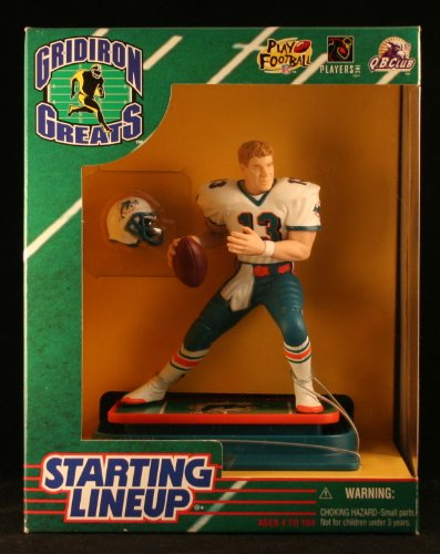 DAN MARINO / MIAMI DOLPHINS 1997 NFL GRIDIRON GREATS Starting Lineup Deluxe 6 Inch Figure