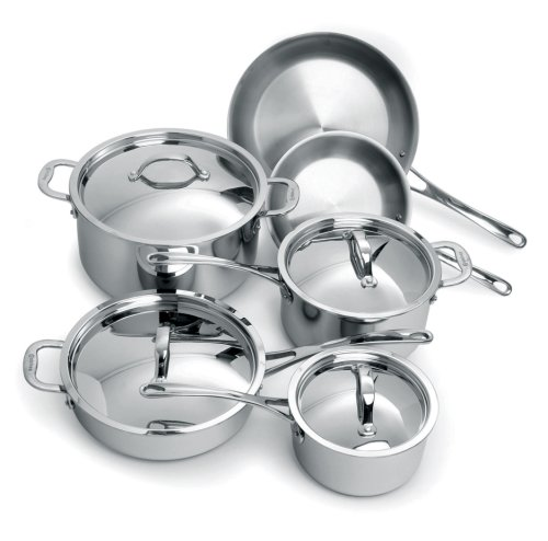 Cuisinox Elite 10 piece Cookware Set