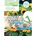 Facon De Parler 1 French for Beginners: Coursebook (Book & CD Course Pack)