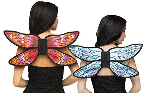 Watercolor Wings - Pink/Orange