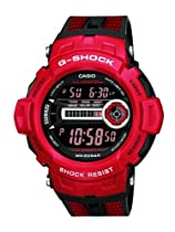 Casio G-Shock Red Digital Mens Watch GD200-4E