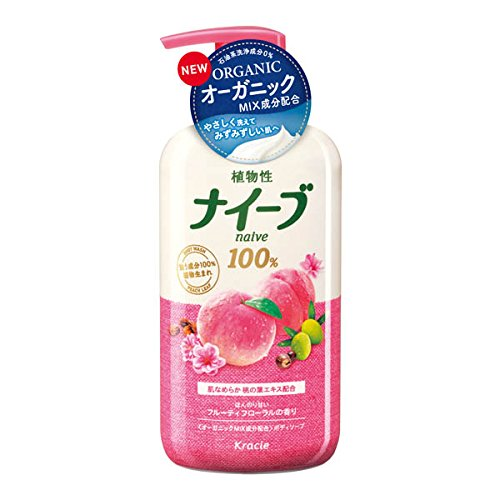 ナイーブソープ桃の葉 ジャンボ 550ml
