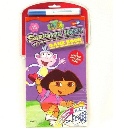 Nick Jr. Dora Surprize Ink! Game Book - 1