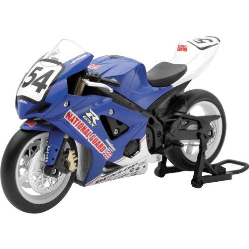 New Ray National Guard Jordan Suzuki Geoff May Replica MotoX Motorcycle Toy - 1:12 Scale
