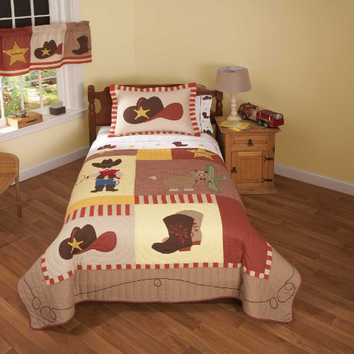 Cowboy Baby Bedding 342 back