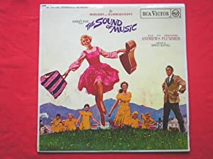 Sound Of Music LP RCA SB6616 EX/EX 1960s with booklet, with Julie Andrews & Christopher Plummer