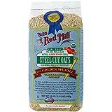 Bob's Red Mill Organic Steel Cut Oats, 4 - 24-Ounce bags