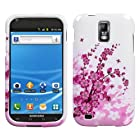 Design Hard Protector Skin Cover Cell Phone Case for Samsung Galaxy S II / SGH-T989 T-Mobile - Spring Flowers