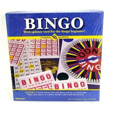 Pressman Toy 1905-06 Bingo Game - 1