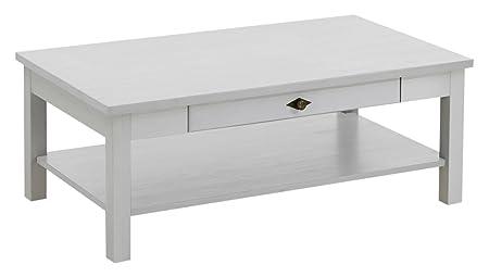 Jumek 131 wss/wss Couchtisch, Holz, weiß, 70.0 x 120.0 x 45.0 cm