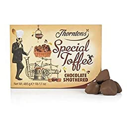Thorntons Chocolate Smothered Special Toffee Box (485g) (Pack of 2)