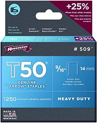 Arrow T50 Staples Box 5000