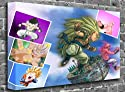 "Dragon Ball Z - Kawapaper (2) Animated Comic Canvas Art Canvas Print Picture print Size: (44"" x 30"")"
