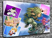 Dragon Ball Z - Kawapaper (2) Animated Comic Canvas Art Canvas Print Picture print Size: (44&quot; x 30&quot;)