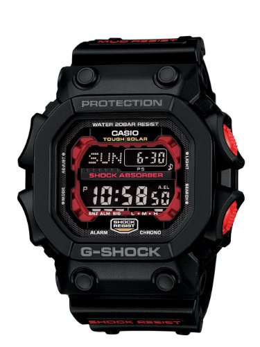 Casio Men's GX56-1ACR G-Shock Tough Solar Mud Resistant Digital Sport Watch