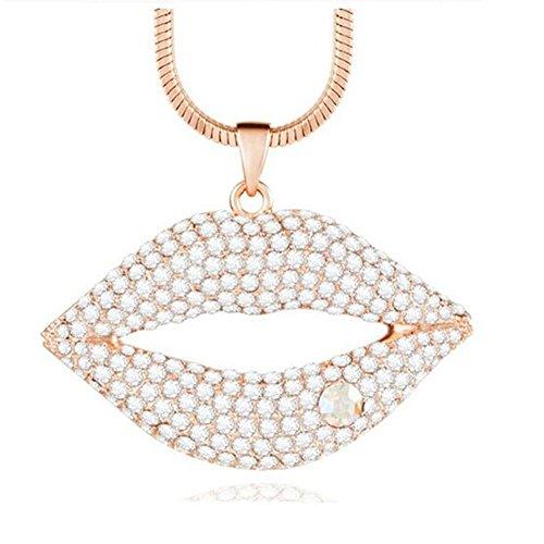 LadyHouse Sexy Lips High-Grade Austrial Crystal(C2)