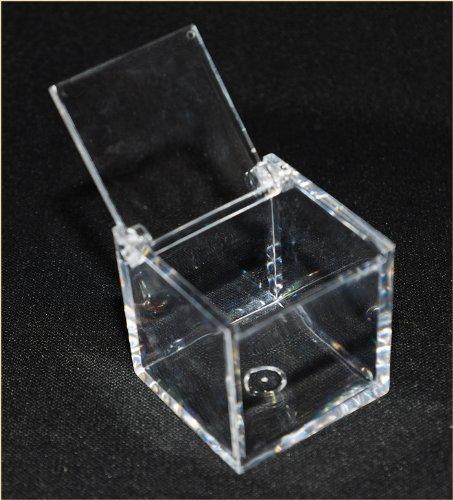 Cubetto portaconfetti 5x5x5 plexiglass scatola bomboniera - Accessori bagno plexiglass amazon ...